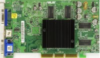 (805) ASUS V9180/2CT/P/128M/4MBO